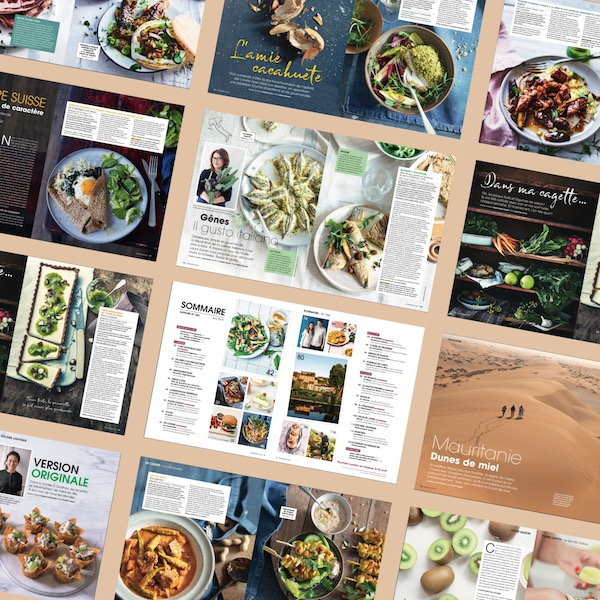 Saveurs 254 pages
