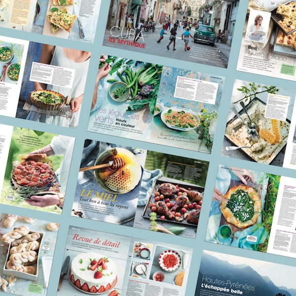 Saveurs 255 pages