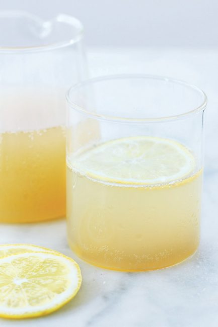 recette d'eau de gingembre et citron