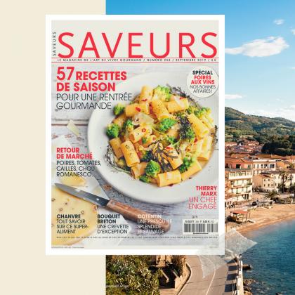 couverture du n°258 de Saveurs Magazine