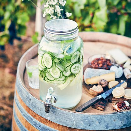 detox water au concombre