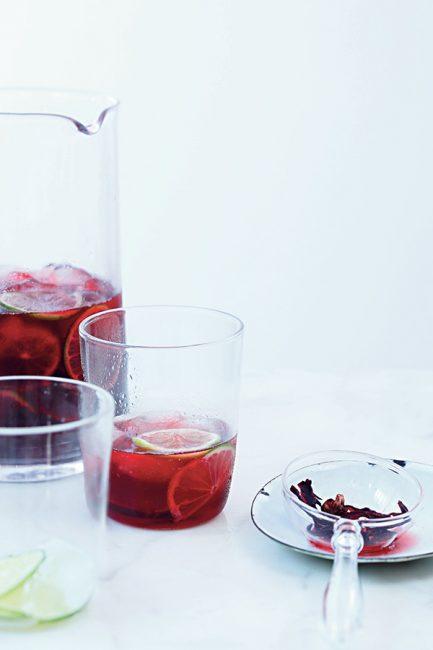 recette Eau d'hibiscus