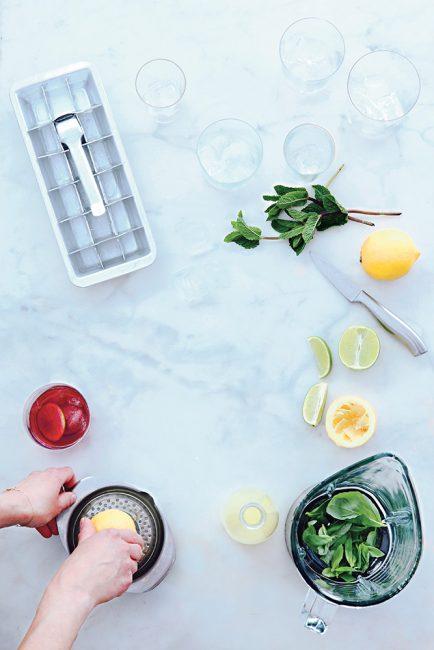 recette pour faire des eaux infusées