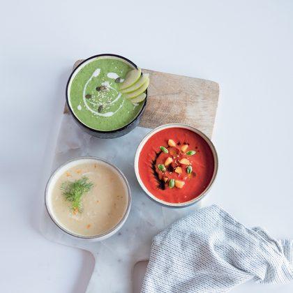 recettes de soupes froides pour l'été