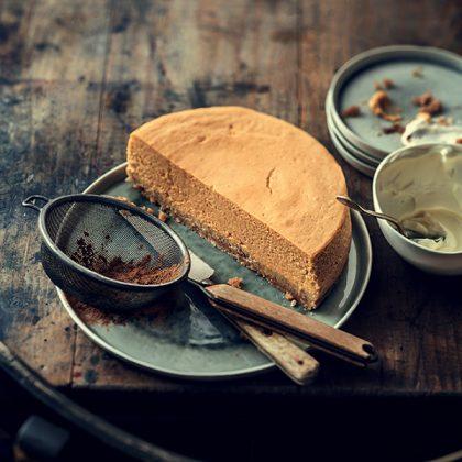 cheesecake au potiron pour l'automne