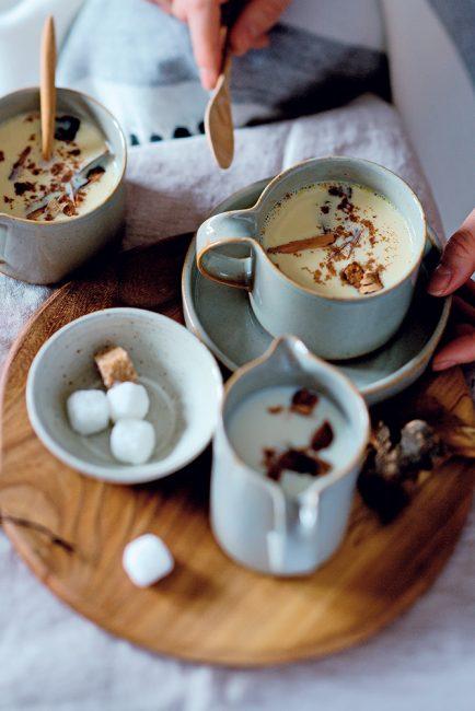 recette de lait de poule pour l'automne