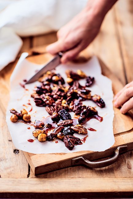 Recette de mousse au chocolat au pralin