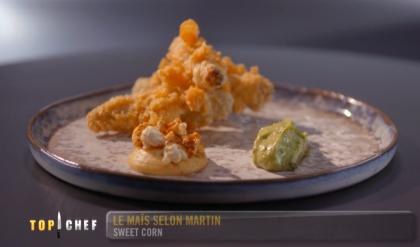 Sweet corn, top chef 2020
