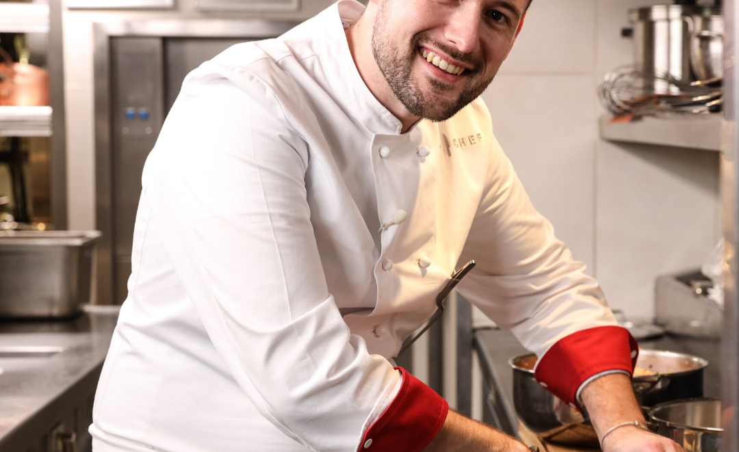 David Gallienne, gagant de Top chef. Crédit M6