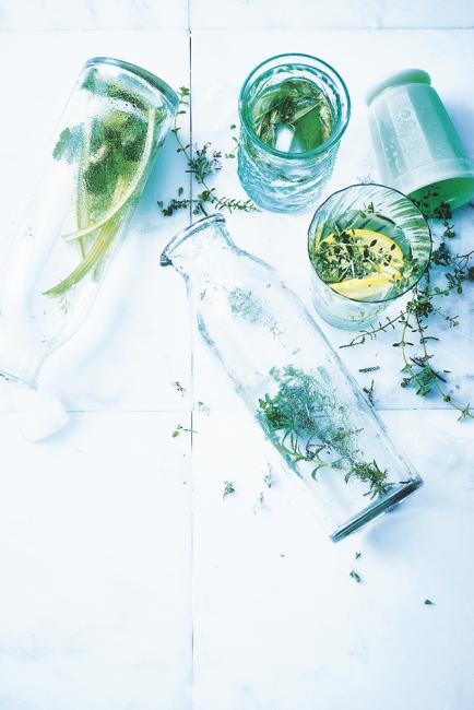 recette detox d'eaux infusées