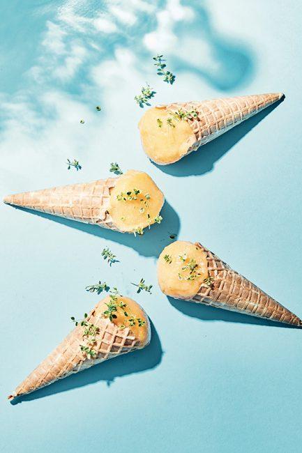 recette de glace maison aux abricots