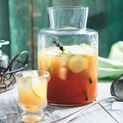 recette de thé glacé pomme vanille