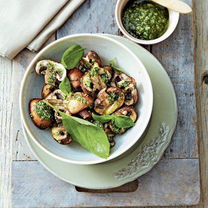 recette facile de poêlée de champignons