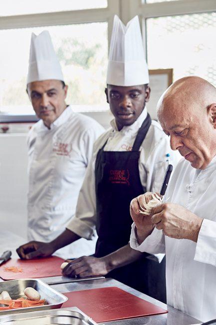 L'école de cuisine de Thierry Marx