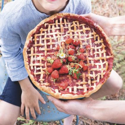 Recette de croustade aux fraises